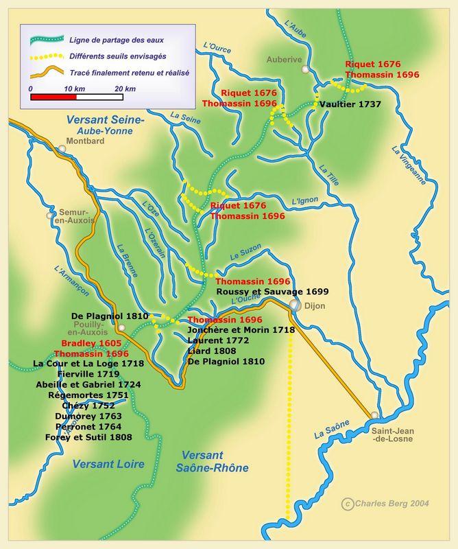 Canal De Bourgogne Carte.Hommes Et Cours D Eau Le Canal De Bourgogne Genese