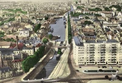 Canal du centre dictionnaire des canaux et rivi res de - Piscine chalon sur saone ...
