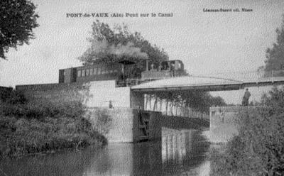 Canal de pont de vaux dictionnaire des canaux et for Piscine pont de vaux