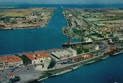 Canal de saint louis dictionnaire des canaux et rivi res de france - Navy service port st louis du rhone ...