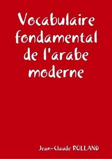 Vocabulaire fondamental de l'arabe moderne