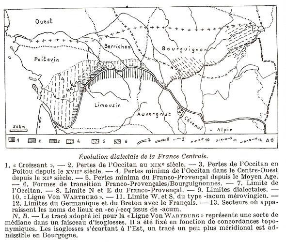 poitevin saintongeais occitan carte pierre bonnaud charentais gabaye retz